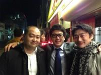 埼玉大会応援します!宮崎会長(新潟県・右)と斎藤次期第4ブロック長